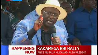 Wetangula's brother announces his Nairobi Gubernatorial aspirations | KAKAMEGA BBI RALLY