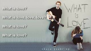 Chase Goehring: What's Love [Lyrics] Original Song  - America's Got Talent 2017
