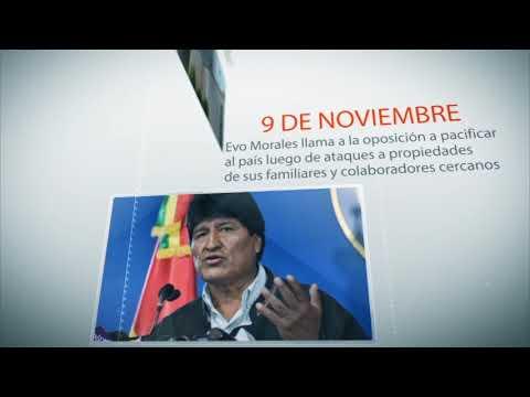 Cronología: la crisis política que llevó a la renuncia de Evo Morales