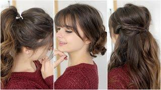 3 Trik Gaya Playful Rambut Berponi