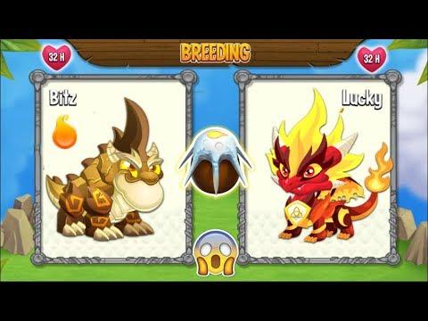 NEW BREEDING: Double Terra Dragon & Pure Flame Dragon   DRAGON CITY 😍