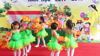 """[TTINFO] Múa """"Thầy cô là tất cả"""" Trường Mầm non Tân Phương Mừng 20/11/2017"""