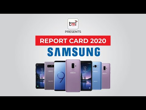 Report card 2020: Samsung