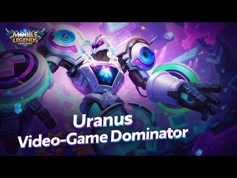 Uranus New Skin | Video-Game Dominator | Mobile Legends: Bang Bang!