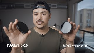 Tiffen vs. Hoya Variable ND & Fixed ND Comparison