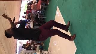 """Kutullo Kubu singing """"Hallelujah Nkateko"""" at a wedding"""