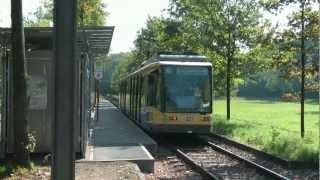preview picture of video 'Straßenbahn Karlsruhe - tabor'