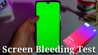 Redmi Note 7 Pro Screen Bleeding Test | neptuneblue unboxing & overview | 48MP camera | snapdragon 6