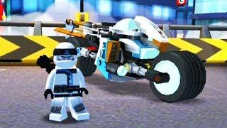 ЛЕГО НИНДЗЯГО на МОТОЦИКЛАХ Ride Ninja небольшой обзор игры LEGO NINJAGO MOTORCYCLE kids games