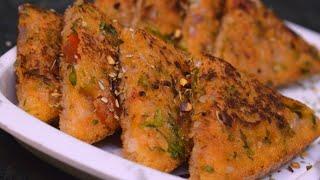 सुबह की भागदौड़ में बनाये ये टेस्टी सूजी ब्रेड टोस्ट नाश्ता Suji Bread Toast Bread Recipes Indian