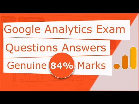 Google Analytics Exam Questions Answers - Genuine 84% Marks ...