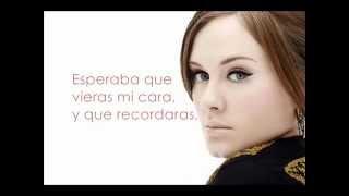 Adele - Someone Like You - letra en espanol