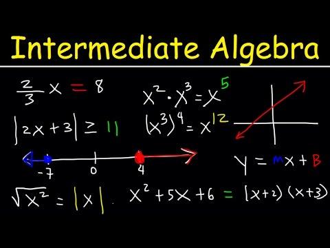Intermediate Algebra - Basic Introduction