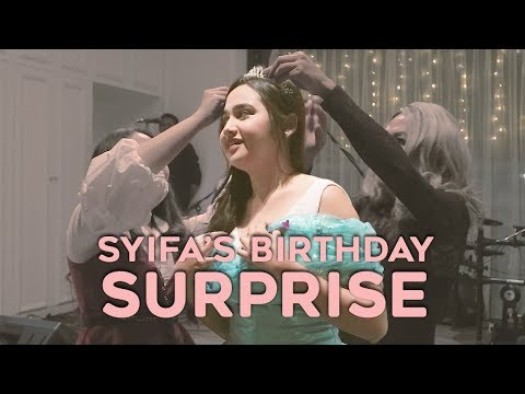 SYIFA HADJU BIRTHDAY SURPRISE