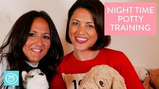 How To Night Time Potty Train - Potty Training Course Part Six | Channel Mum