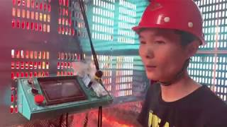 Construction hoist Smart control system
