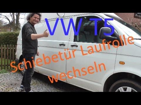 VW T5 Schiebetür - Laufrolle reparieren