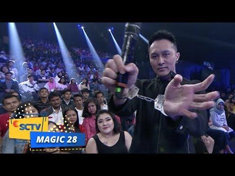 Aksi Demian Aditya Buat Satu Panggung Deg-Degan | Magic 28 (видео)