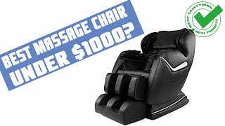 Best Massage Chair Under $1000: What's the Best Affordable Massage Chair?