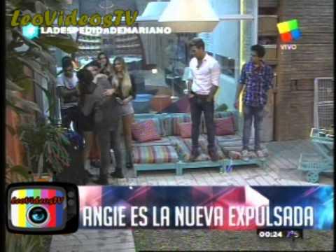 Angie abandono la casa de Gran Hermano con el 47,3% #GH2015 #GranHermano