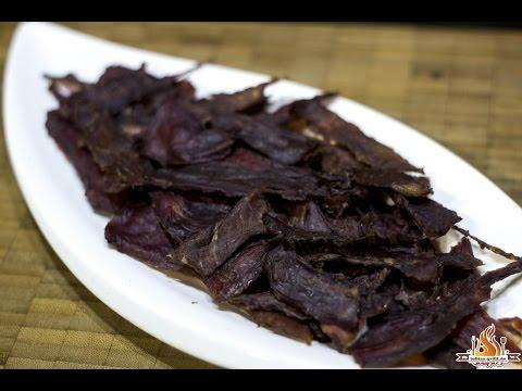 Asia Beef Jerk (Beef Jerky)[german BBQ tutorial]