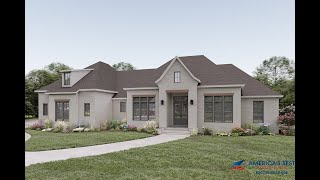 FRENCH COUNTRY HOUSE PLAN 041-00205
