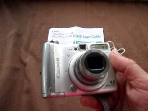 Canon Power Shot A520 Digital Camera for auction on Listia
