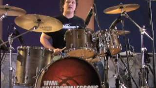 Double Bass Fills   Drum Lessons