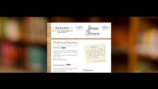 "Download resume ""Solicitous"" by Mycvfactory"