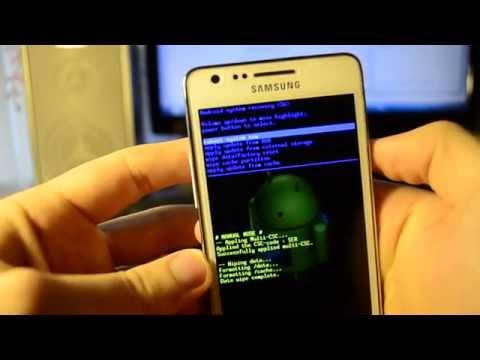 Сброс андроида до заводских настроек - Samsung Galaxy S2