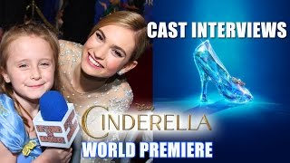 CINDERELLA Cast Interviews with Lindalee Rose