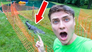 I TRAPPED THE POND MONSTER!! - Video Youtube