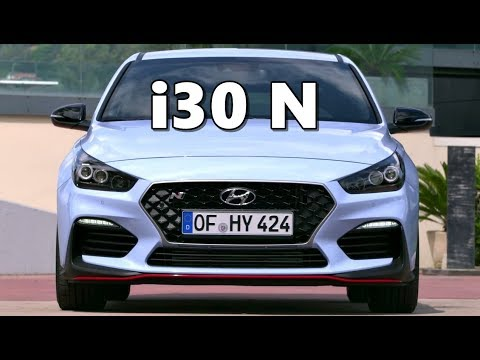 Hyundai I30 N in Action on Road & Track