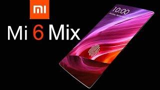 Xiaomi Mi 6 MIX Concept with 100% Screen to Body Ratio &  Retractable Front Camera