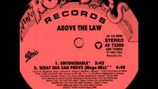 ABOVE THE LAW: UNTOUCHABLE 1990