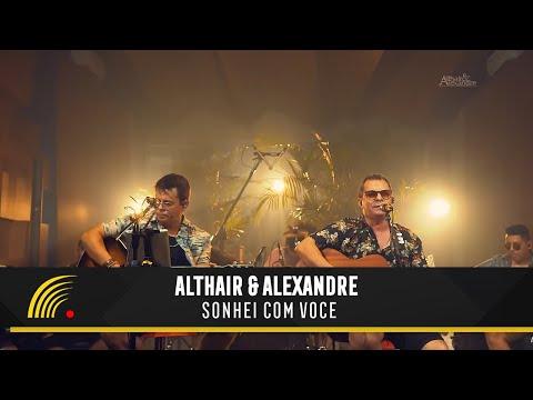 Althair e Alexandre - Sonhei com você - Ensaio Turnê 2019