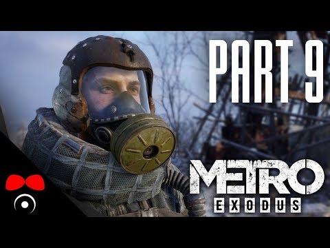 PODZEMNÍ KRYT PLNÝ PAVOUKŮ! | Metro Exodus #9