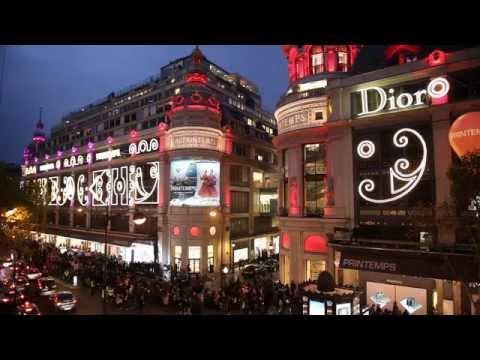 Escaparates de Navidad Printemps por Dior