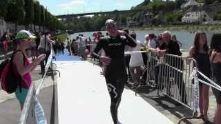 preview picture of video 'Triathlon de Mayenne 2014'