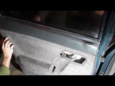 Снятие Установка Стекла Задней Двери ВАЗ 2110