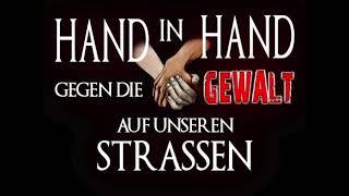 Hand in Hand  Wiesbaden Kundgebung 29.9.2018 Hauptbahnhof