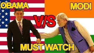 Narendra Modi Vs Barack Obama Rap Battle | Shudh Desi Raps
