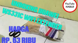 UNBOXING HUAWEI WS331C WIFI EXTENDER 300Mbps
