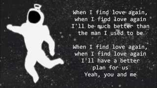 James Blunt - When I Find Love Again -  Lyrics