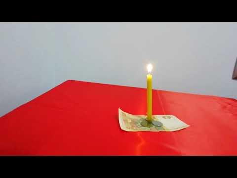 Сильный обряд на деньги через слезу свечи.