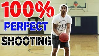 The Perfect Shooting Form - How to shoot a basketball