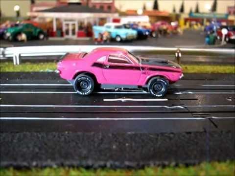Drag Race Thunder. Slot Car Style