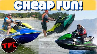 Top 3 Cheapest Jet Ski, Sea-Doo & Waverunner Models of 2020 Compared! Which One Should You Buy?