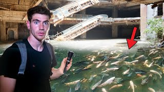ABANDONED MALL FULL OF LIVE FISH INSIDE!! (Thailand)
