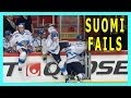 ᴴᴰ 5 Epic Fails in 5 Seconds by Finland's Hockey Team Players 2014